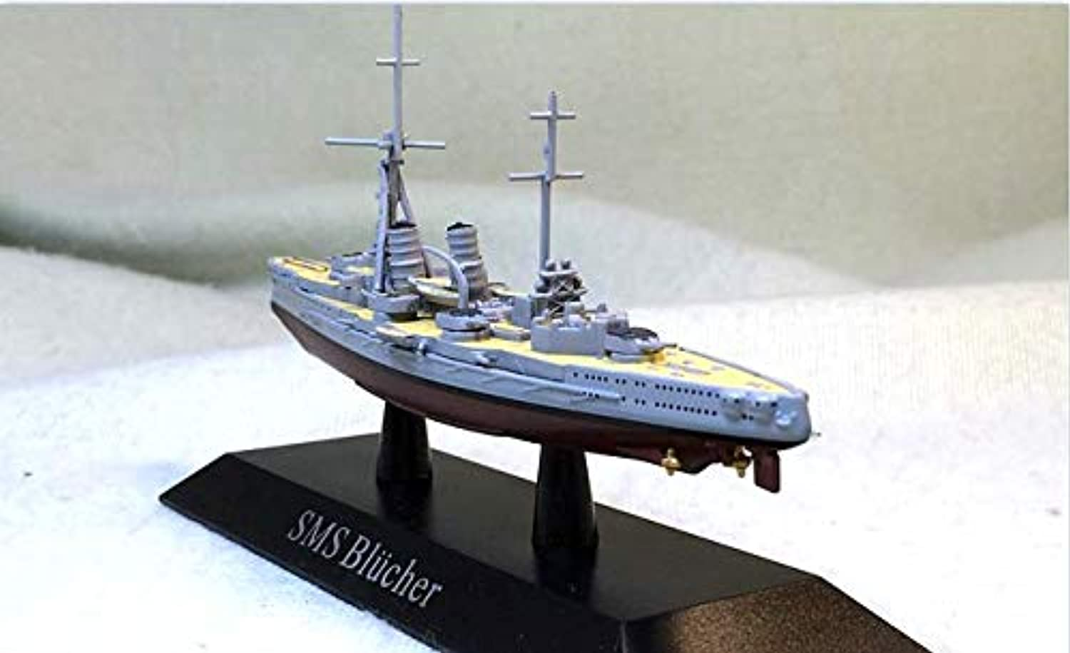 German Empire SMS bluecher 1 1250 diecast Model Ship