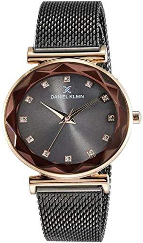 Daniel Klein Analog Black Dial Women's Watch-DK11404-8