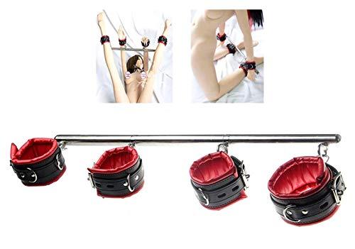 Fesselstange verstellbare Hand Fuß Fesseln Hand- und Fußfessel Fesselstange mit Metall Spreizstange