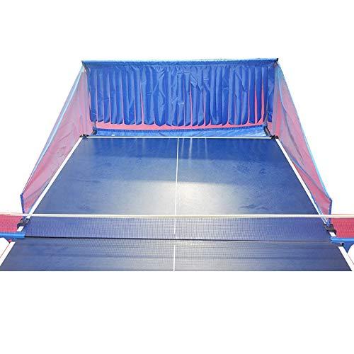 JGRH Table Tenis Net Mesa Pelotas de Penismo Catch Net Butterfly Robot Pin Pong Máquina Entrenamiento Ping Pong Balls Recolectando Mesh Trainer Accesorios (Color : Table Balls Net)