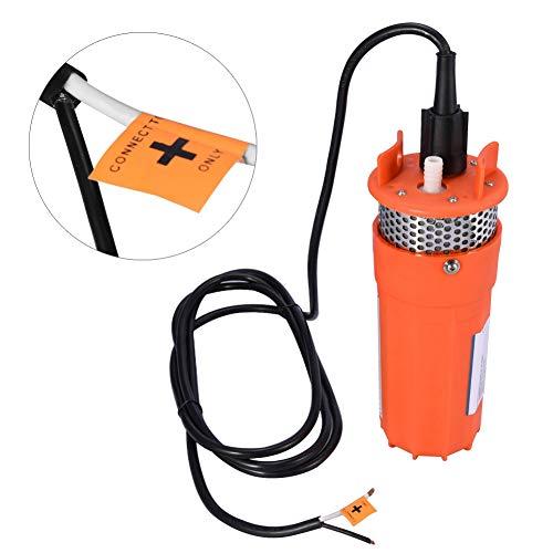 Bomba de Agua DC Sumergible de Pozo Profundo de 12V 1/2 pulgada, Bomba Sumergible Solar de Energía Alternativa para Pozos Profundos de Gran Elevación