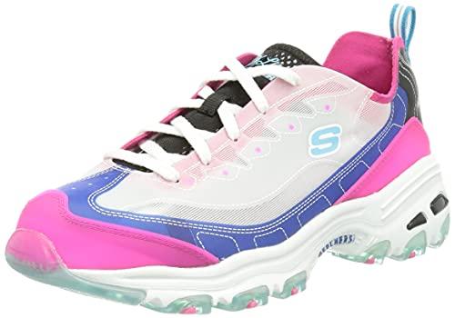 Skechers D'LITES Fresh Air, Zapatillas Mujer, Blhp, 38 EU
