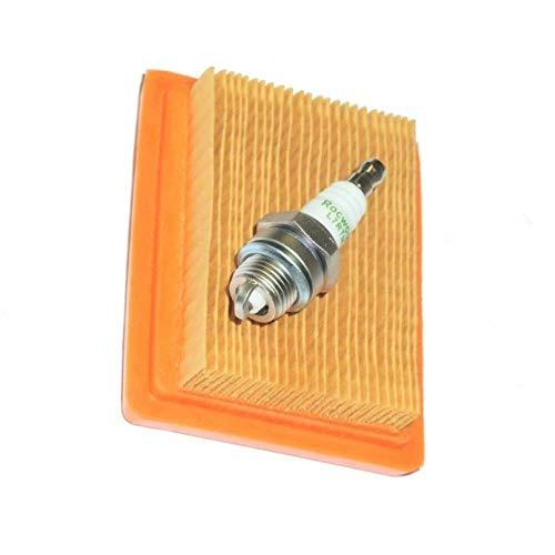 Filtro de aire bujía para Stihl FS120 FS200 FS250 FS300 FS350 FS400 desbrozadora