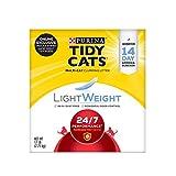 Purina Tidy Cats Light Weight, Low Dust, Clumping Cat Litter, LightWeight 24/7 Performance Multi Cat Litter - 17 lb. Box