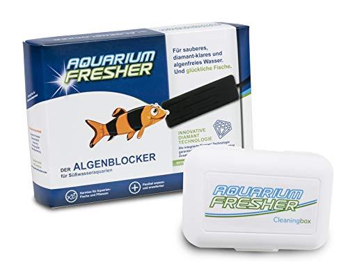 AquariumFresher für Aquarien bis 200L inkl. Cleaningbox   Vorteilspack   bekämpft Algen   Algenvernichter & Algenentferner