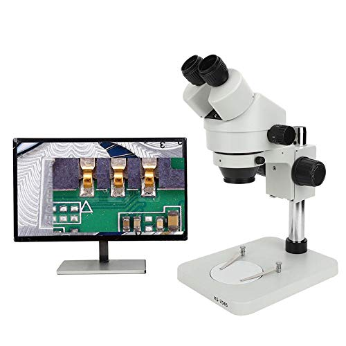 Binoculaire Microscoop Host, Binoculaire Stereo Microscoop Professionele Verstelbare Vergroting Laboratorium Observatietool 0.7X-4.5X