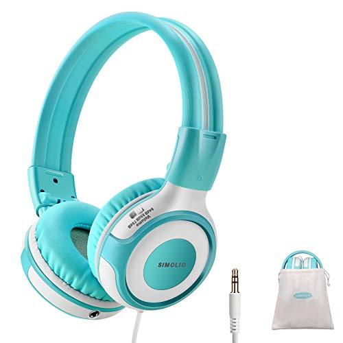 SIMOLIO Kids Headphones with Safe Volume