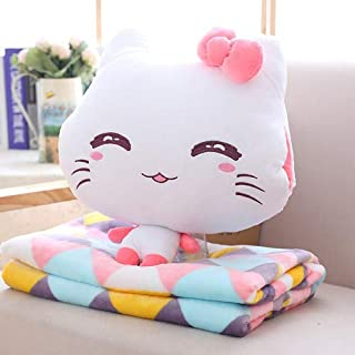 Amazon.com: I Emoji gato peluche juguete con manta de ...