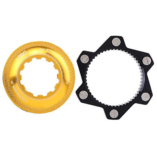 Borlai 6 pernos de bloqueo central de bicicleta adaptador de bloqueo central de bicicleta para entusiastas de la bicicleta de montaña