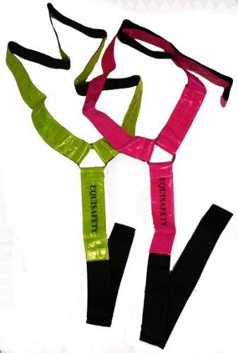 Equisafety Adjustable Neck Band - Prenda, Color Amarillo, Talla Talla única