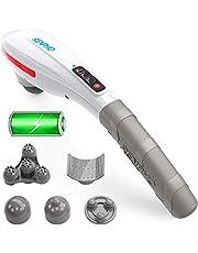 Massager Handheld, RENPHO Back Massager Deep Tissue Muscle Massager voor Nek, Rug, Schouder, Voet, Been, Kalf Pijn Relief, Wit