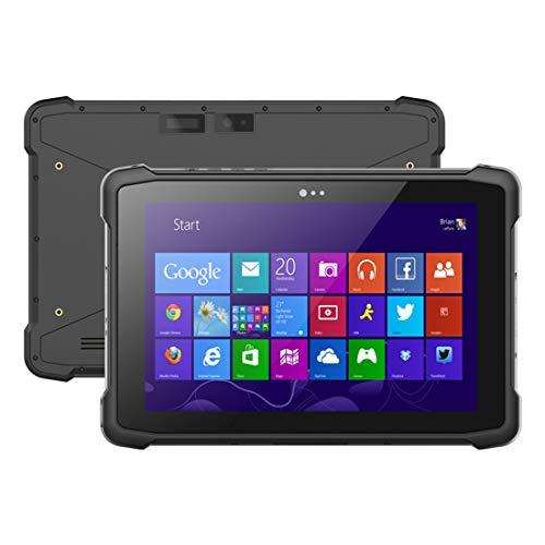 LLC- POWER IP67 imperméable à l'eau en Plein air Tablette avec écran Tactile HD 10,1 Pouces, Intel Cherrytrail Z8350 Quad Core @ 1.44 GHz 2GB + 32GB 2D Scan Code 8000mAh Batterie