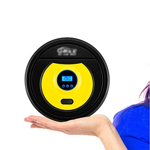 SWQG-Padelle Compresor AIRE Coche Digitale/Puntatore 12V 100PSI Pompa Compressore Auto, Compressore d'Aria Portatile con Portata 30L / Min E Luci A LED COMPRESSORE-Portable (Colore : Display LCD)