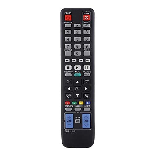 Draagbare afstandsbediening, AK59-00104R Innovatieve vervanging van toetsenbord-tv-afstandsbediening voor BD-C5500 BD-C6500 BD-C6900 (3D) BD-D6500/ZA BD-D6100C, universele afstandsbediening
