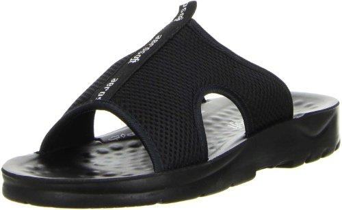 Aerosoft Herren Badeschuhe Pantoletten schwarz, Größe:44;Farbe:Schwarz