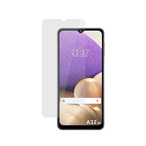 MB ACCESORIOS Protector de Pantalla, Cristal Templado con Pegamento Completo para Samsung Galaxy A32 5G