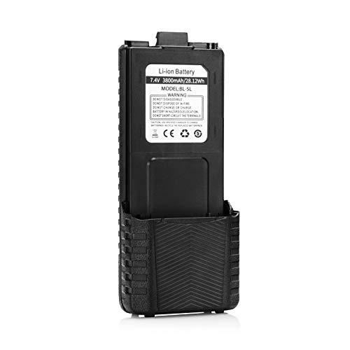 Baofeng BL-5 3800 mAh Batería de Gran Capacidad para Baofeng UV-5R/UV-5R Plus/UV-5RTP Walkie Talkie