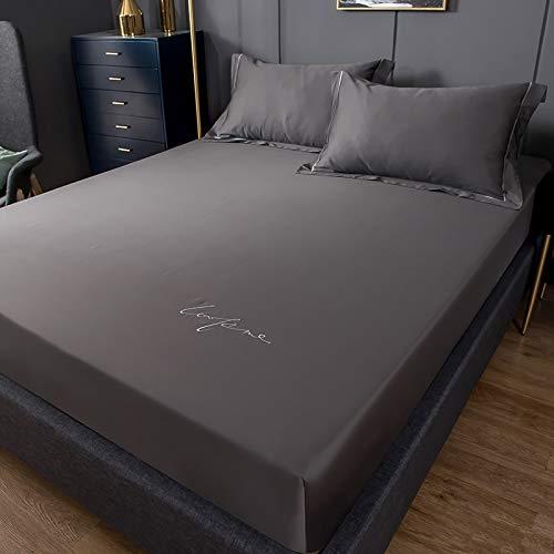 Xiaomizi Sábanas planas: sábanas de lujo son transpirables, lo que te mantiene fresco y cómodo: 180 x 200 cm