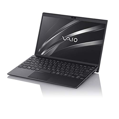 VAIO (バイオ) モバイルノートPC SX12 i5 VJS12190411B ブラック [Core i5・12.5インチ・Office付き・SSD 256GB・メモリ 8GB]