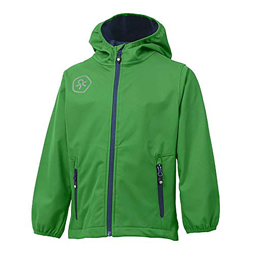 Color Kids. Barkin, Softshell-Jacket Junior Air-Flo 8000, Green, 98