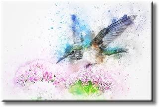 flower design on canvas