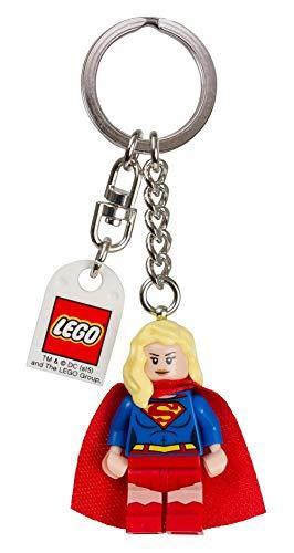 Lego Supergirl Keychain
