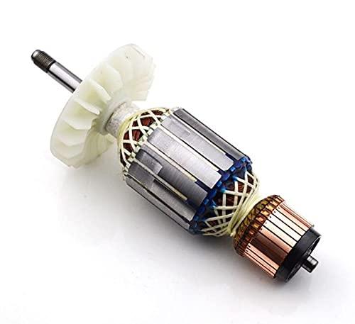 SDUIXCV Reemplazo del Motor de Campo del Rotor de Armadura GWS 20 para Amoladora Angular más Grande Bosch GWS 20-180 GWS20-180 GWS 20-230 GWS20-230 (Color : Armature)