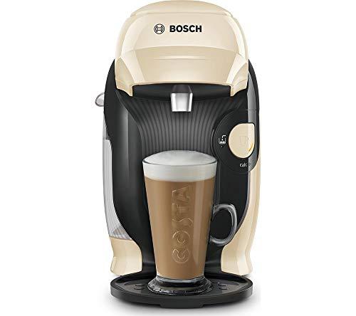 TASSIMO by Bosch Style TAS1107GB - Cafetera de café, color crema