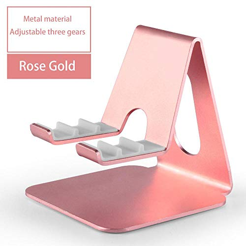 LPYXH tablet support Suitable for adjustable tablet desktop stand 9.7 10.5 inch metal rotating tablet stand mobile phone rosegold