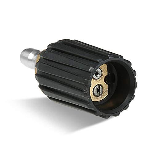 Greatangle-UK Pistola de Agua de Alta presión, Boquilla de Pistola, línea Recta Ajustable, 2 Orificios, Lavadora de Coche, Cabeza de Pistola, Accesorios de Coche