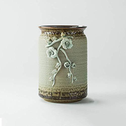Tuin Bloempotten Creative In reliëf Flower Pot, Grote Planter Outdoor Indoor Bloempot, Garden Plant Container Met Drainage gaten, Indoor Vaas Decoratie Plant Containers Accessoires zhihao