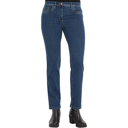 Zerres dames jeans GINA Straight Fit Tencel Denim