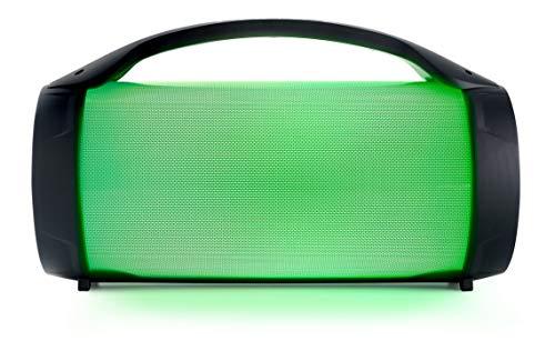 Bigben Interactive PARTYBTLITE Tragbarer Lautsprecher 50 W Schwarz - Tragbare Lautsprecher (50 W, Verkabelt & Kabellos, Mikro-USB, USB Typ-A, Schwarz, Drehregler, Universal)
