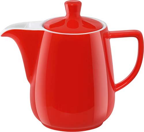 Melitta 219094 Kanne Porzellan Kaffeekannee 0,6l Rot