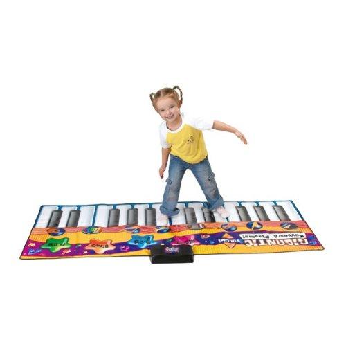 Eddy Toys–70865–Musikinstrument–Spielmatte–Tastatur Piano Riesen 180x 80cm x1