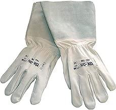 noir OX-ON Keox Gants de travail en cuir avec fermeture Velcro Tailles disponibles de 8 /à 12.