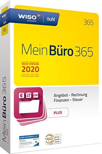 WISO MeinBüro 365 (2020) Plus | Bürosoftware, Rechnung schreiben, Umsatzsteuervoranmeldung, Buchhaltung u.v.m.