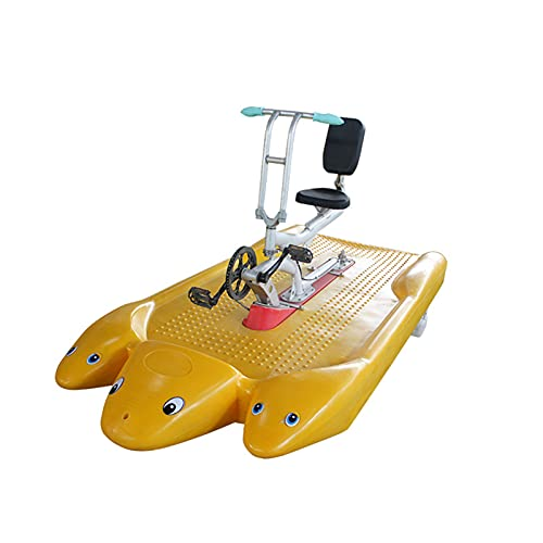 DUTUI High-Strength Plastic Bicycles Single Bicycles Pedal Dolphin Bicycles Exercise Bikes Adult Excursion Paddle Canoes Enjoy A Comfortable Life