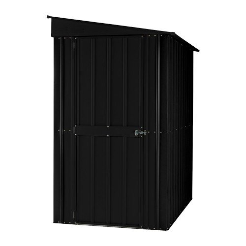 Lotus LOTUSLEANTO58AG Lean-To Shed, Anthracite Grey, 5 x 8 ft