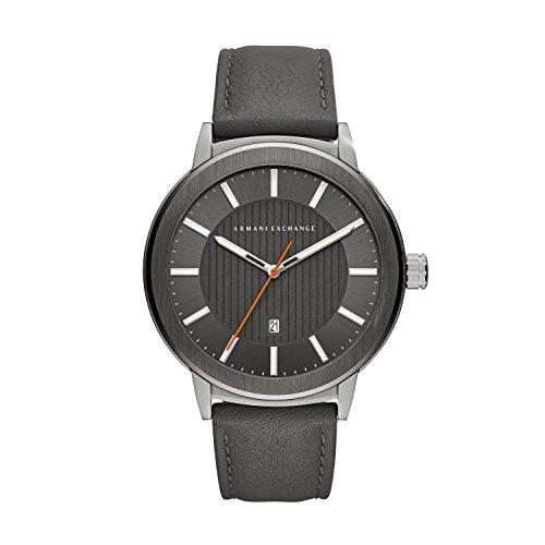 Armani Exchange Reloj Analogico para Hombre de Cuarzo con Correa en Cuero AX1462