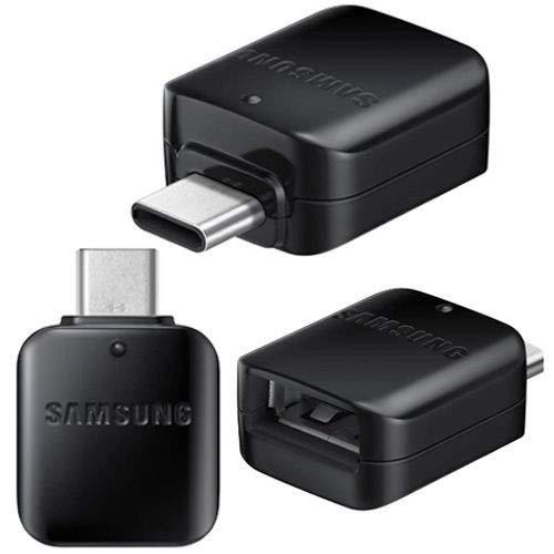 Echter schwarzer GH98-41288 A Samsung Galaxy Typ C männlich HOST zu USB Stecker OTG Adapter S8 S8 + A3 A5 Note 7 (Bulk verpackt)