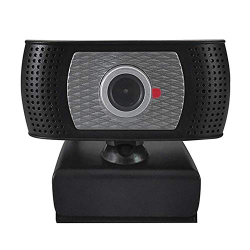HD Webcam .0 720P Estudiar Conferencias Integrado Micrófono Live Streaming Grabación Hogar Oficina Vídeo Calling Auto Focusing 1 Megapixels Videojuego Y Jugar