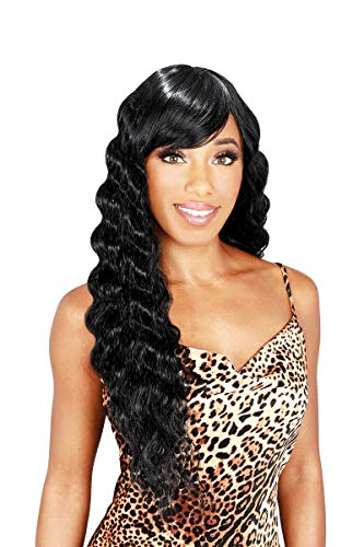 Zury Sis The Dream Synthetic Hair Wig - DR H BANG CRIMP 26 (1 Jet Black)