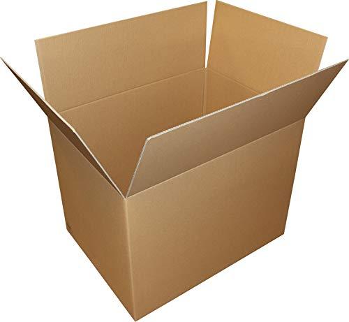 6 St. Faltkarton 900x500x400 2-wellig braun 2.40 BC-Welle Versandverpackung 90x50x40 Umzugs Bücherkartons
