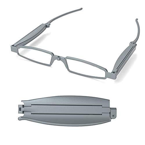 Modische Faltbare Taschenlesebrille, Unisex Lesebrille Faltbrille für Damen und Herren, geeignet für 35-70+ Jahre alt