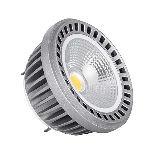 LEDKIA LIGHTING Bombilla LED AR111 12V COB 12W Blanco Cálido 3000K