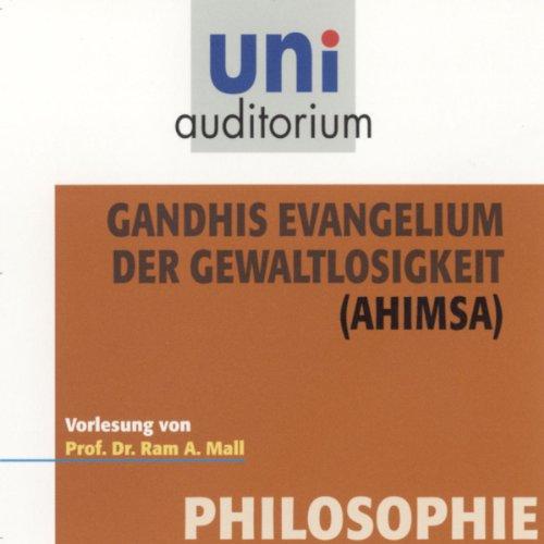 Gandhis Evangelium der Gewaltlosgikeit Titelbild