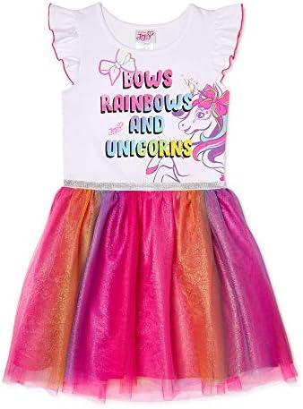 JoJo Siwa Big Girls Tulle Tutu Skirt 7 8 White product image