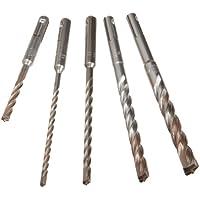 5-Piece DEWALT SDS Plus Bits Set, Rock Carbide Tip
