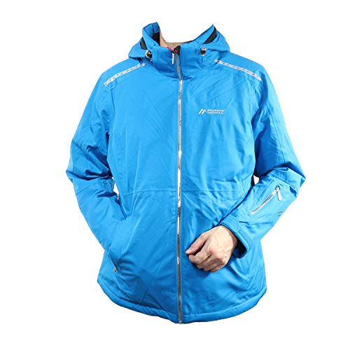 Maier Sports Herren Outdoor und Skijacke Funktionsjacke Versettia W 210035 (Blau, 46)